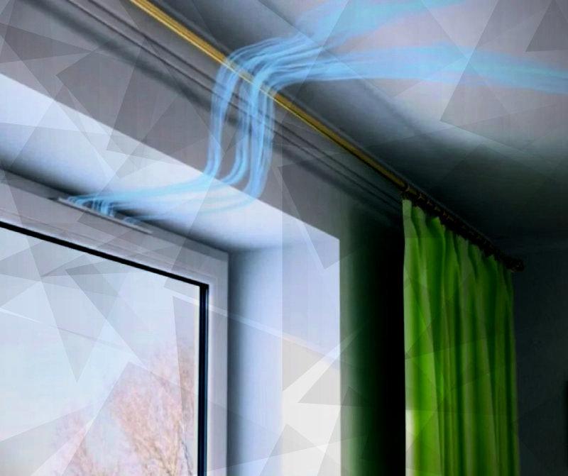 Вентиляционные клапаны для окон